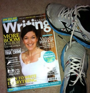 A magazine what'll up yer use of adjectives. Innit. Plus a pair of stinky old trainers.